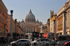 Rome street view Royalty Free Stock Photo