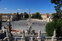 Rome street view Stock Photo