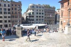 Rome street view Stock Image