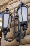 Rome, streetlight Stock Image
