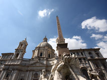 Rome in summer Stock Image