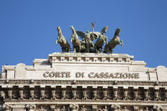 Rome - summit from Palace of Justice Royalty Free Stock Photo