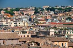 Rome taksikt Arkivbild