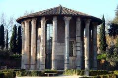 rome tempelvesta royaltyfri bild