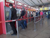 Rome Termini station royalty free stock image