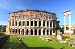 Rome - theatre - marcellus, marcello Stock Photo