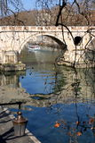 Rome, the Tiber Stock Photos