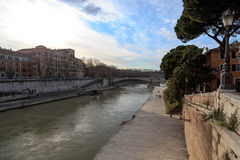 Rome by the Tiber Stock Images