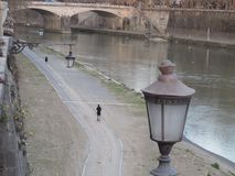 Rome The Tiber river royalty free stock photos