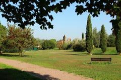 Rome, Tor Fiscale Park photos libres de droits