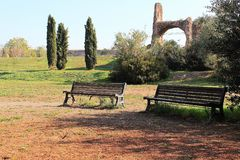 Rome, Tor Fiscale Park image stock