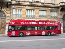Rome tour bus Royalty Free Stock Photos