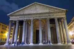 Rome tourist attraction - the famous Pantheon royalty free stock image
