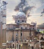 Rome touristic site Stock Image