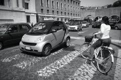 Rome traffic Stock Photos