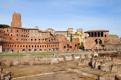 Rome - Trajan Forum Royalty Free Stock Photo