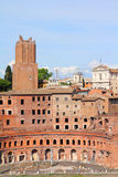 Rome - Trajan Forum Stock Images