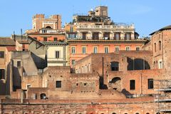 Rome - Trajan's Forum Royalty Free Stock Images