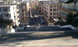 Rome trappa Fotografering för Bildbyråer