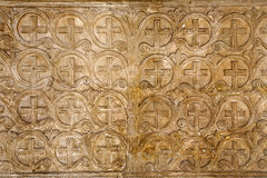 Rome - tree relief - symbol of Jesus life Royalty Free Stock Photography