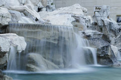 Rome: Trevi fontein Royalty-vrije Stock Afbeeldingen