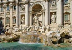 Rome Trevi Fountain Stock Photography