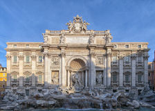 Rome Trevi Fountain 01 Royalty Free Stock Images