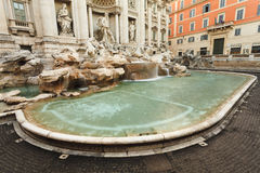 Rome Trevi Pool Stock Image