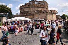 rome turister Fotografering för Bildbyråer