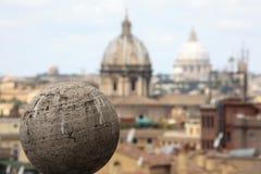 Rome : une image des trous impériaux photos stock