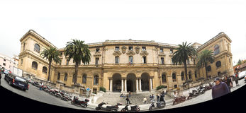 Rome - university Stock Photo