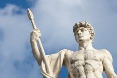 Rome unknow soldier roman statue. Rome unknow soldier roman Marble statue royalty free stock images