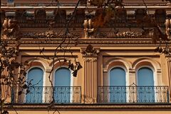 Rome, Urban Architecture In The Prati District Stock Photography