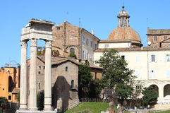 Rome urban scenics. Beautiful urban scenic in Rome, Italy Stock Photography