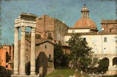 Rome urban scenics - Vintage Stock Image
