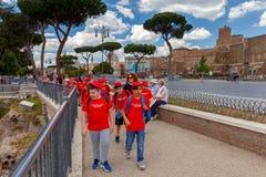 rome Utfärd för barn Arkivfoton