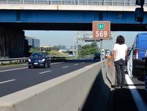 Rome - vänta på huvudvägen Royaltyfri Foto