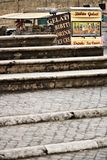 rome Van с баром продавая сэндвичи и напитки Перед th стоковые фото
