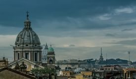 Rome varied antique  architecture ruins ItalyVatican City Stock Photography
