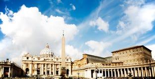 rome vatican Arkivbild