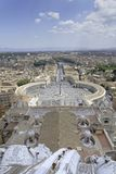 Rome and vatican city Royalty Free Stock Image