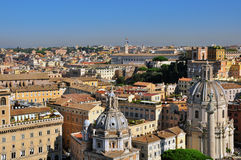 Rome and Vatican cityscape Royalty Free Stock Photos