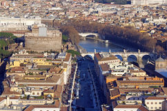 Rome from Vatican Dome Stock Images