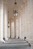 Rome vatican italy. Architecture column square basilica Royalty Free Stock Images