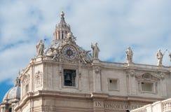 Rome vatican italy Stock Image