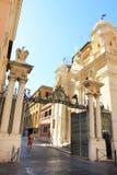 Rome Vatican, Italy - Saint Peter basilica gardians stock photography