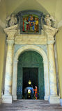 Rome Vatican, Italy - Saint Peter basilica gardians royalty free stock image
