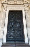 Rome. Vatican. Paul's door Royalty Free Stock Photos