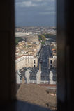 Rome / Vatican - View on Saint Peters Square Stock Image