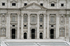 Rome Vatikaan City Basilica Di San Pietro Royalty-vrije Stock Foto's